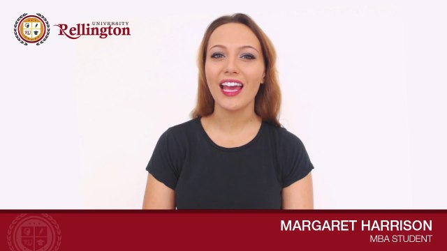 MBA Student Margaret Harrison Speakes About Her Experience