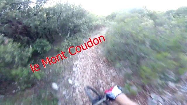 vtt var reprise du bikou sur le Mont Coudon