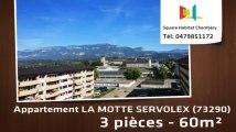 A vendre - Appartement - LA MOTTE SERVOLEX (73290) - 3 pièces - 60m²
