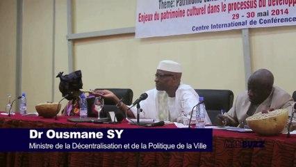 Il faut qu'on utilise notre patrimoine …(CULTUREL)… pour donner des noms à nos rues dixit Dr Ousmane SY