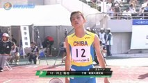 2011国体陸上 少年男子B100m決勝