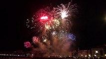 Video San Sebastian - feux d'artifice du 12 aout 2014