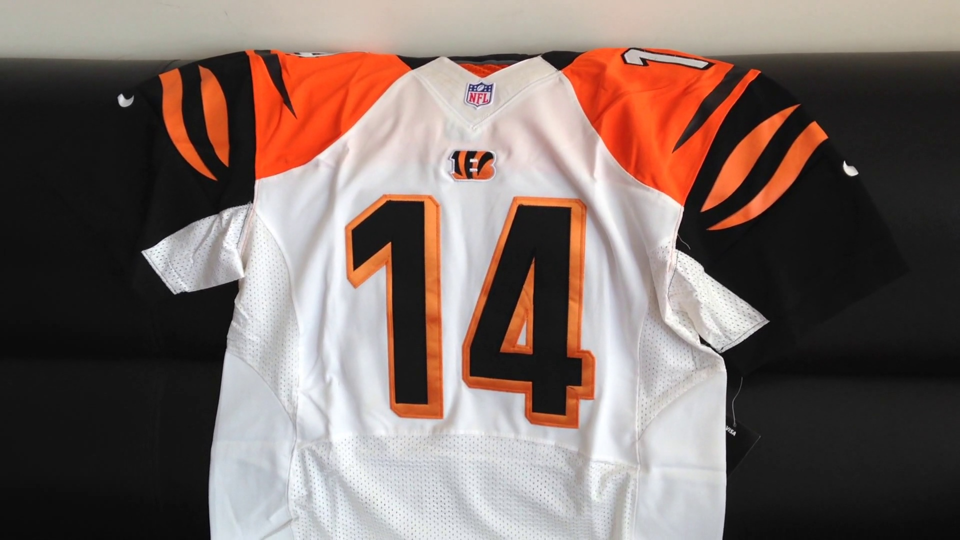 2014 Cincinnati Bengals Nike NFL Jerseys Dalton 14 Black Jerseys From jerseys-china.cn