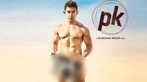 Aamir Khan Not Holding A Radio In Second P.K. Poster | FULL NUDE