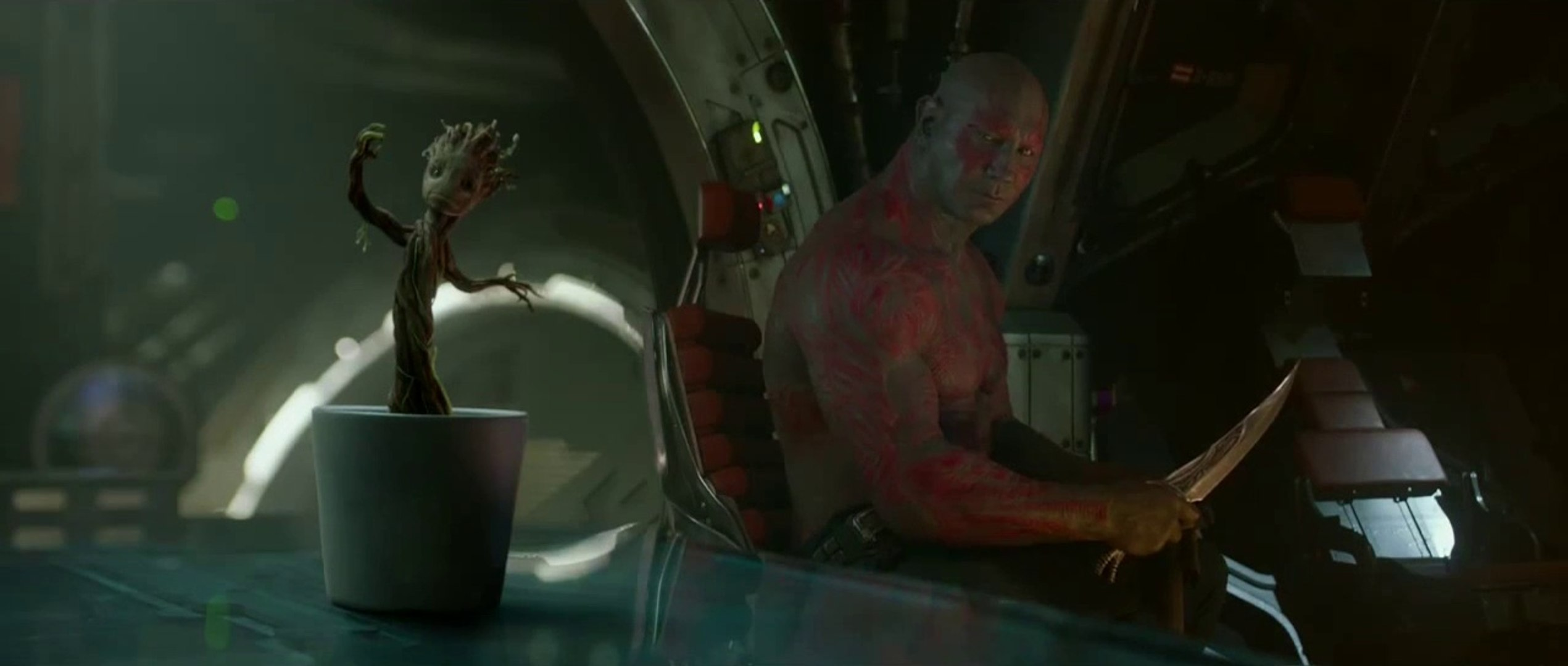 Guardians of the Galaxy Movie CLIP - Dancing Baby Groot
