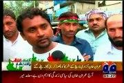 Imran khan (PTI) left his workers in heavy rain at azadi march Islamabad