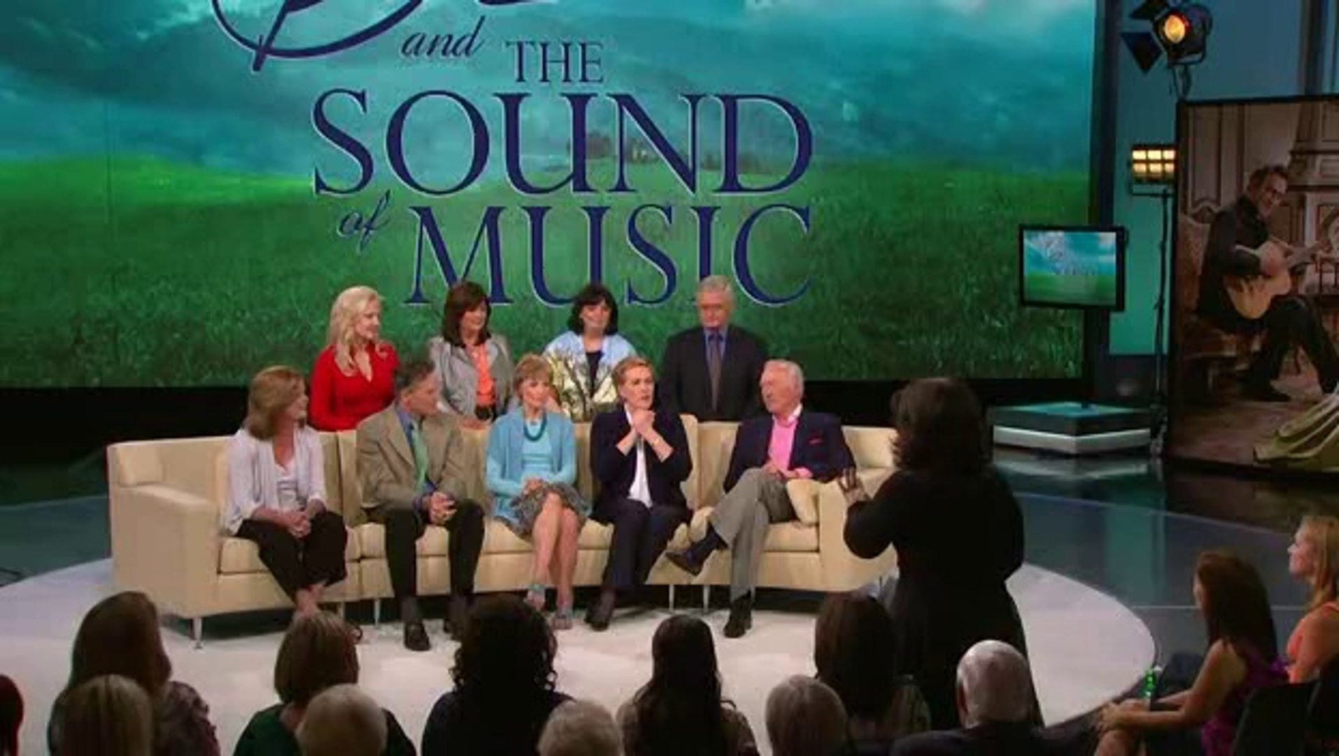 Oprah Sound Of Music Reunion Video Dailymotion