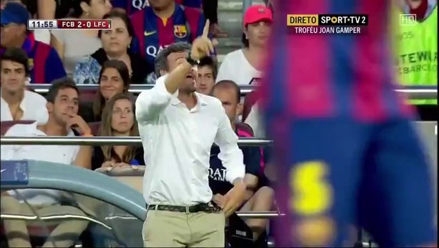 Барселона - Клуб Леон 6:0