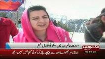 Snow festivals Pakistan in malam jabba swat valley report by sherinzada