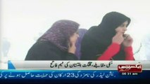 swat snow festival in malam jabba pakistan sherin zada express news swat 2013