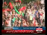 Sheikh Rasheed Ahmed Speech in PTI Azadi March Islamabad - 16th August 2014