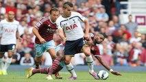 Fan Takes Free Kick In West Ham-Spurs Game