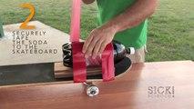Rocket Powered Skateboard - Sick Science! #090