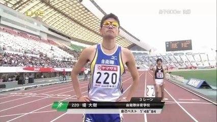 2012日本選手権 男子800m決勝