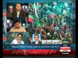 Express News Special Transmission Azadi & Inqilab March 10pm to 11pm - 17th August 2014