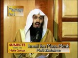 Mufti Ismael Menk- Marriage ( Mother and Wife are Equal)