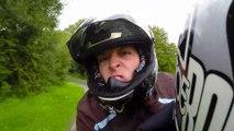 Petit tour en moto avec jacky