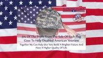 US Veterans Flag Honors American Heroes