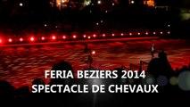 FERIA BEZIERS 2014 - SPECTACLE - CABARET EQUESTRE