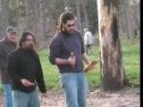 Jeu de Kubb au bois de Vincennes