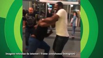 Jon Jones encontra Mike Tyson e tem até 'luta de boxe'