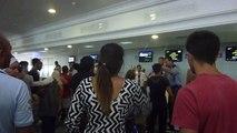 Passagers bloqués à Djerba: tension à l'aéroport