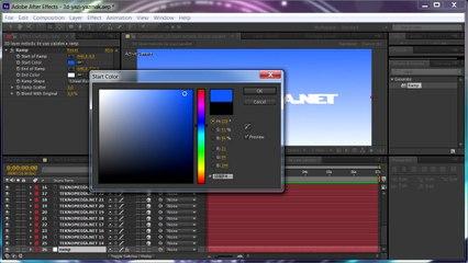 After Effects ile 3D Yazı Yazma (Layer Metodu)