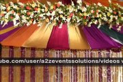 A2Z Events Solutions, Pakistan's One and Only leading Royal Events Planners, Weddings Planners, Weddings Organizers, Weddings Decorators, and Tope Class Caterers for all these Types of Events.We are specialized in all these traditional Services i.e Mehndi