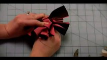 How to Make a Cheer Bow - How to Make Cheer Bows - How to Make Cheerleading Hair Bows - How to Make Bows