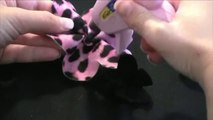 How to Make Bows - Felt Flower Hair Bow Tutorial - How to Make Hair Bows - How to Make a Hair Bow - How to Make Hairbows