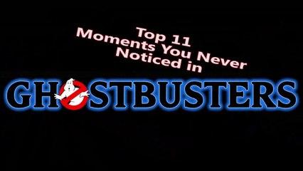 Nostalgia Critic - Top 11 des choses que vous ne saviez pas sur SOS Fantômes_vostfr