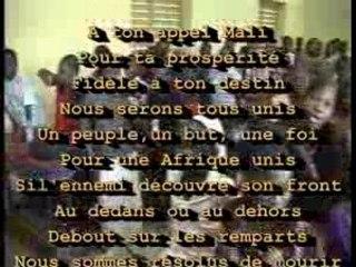 Voyage Mali hymne