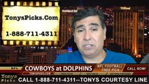 Miami Dolphins vs. Dallas Cowboys Pick Prediction NFL Preseason Pro Football Odds Preview 8-23-2014