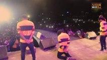 Ivoirmixdj - Kiff no Beat en guest star au concert de Davido à Abidjan fait délirer le public
