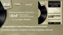 Georges Ulmer, Hubert Rostaing et son orchestre - Le chanteur argentin, le chanteur cow-boy, le chan