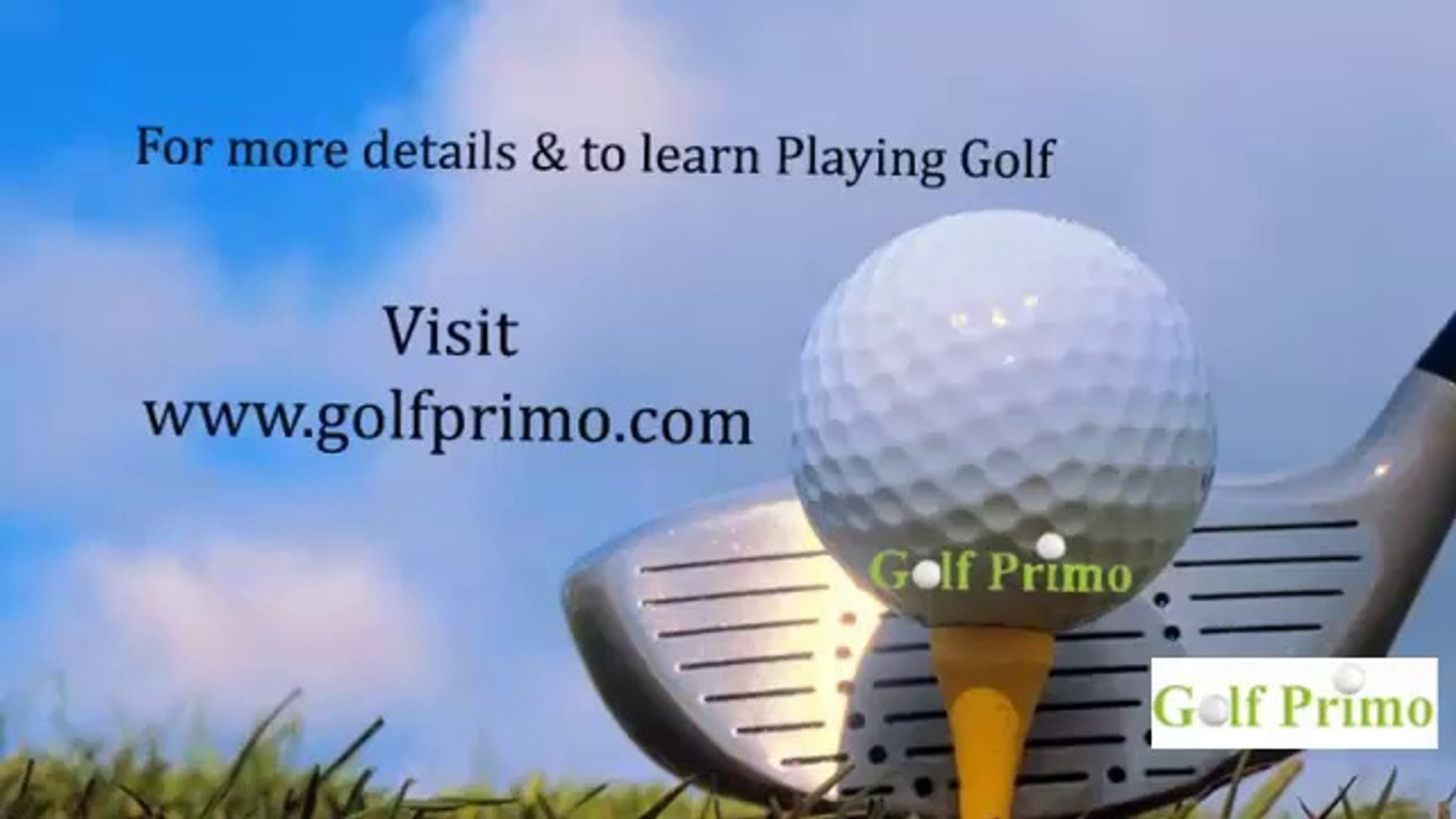 Golf Primo - Introduction