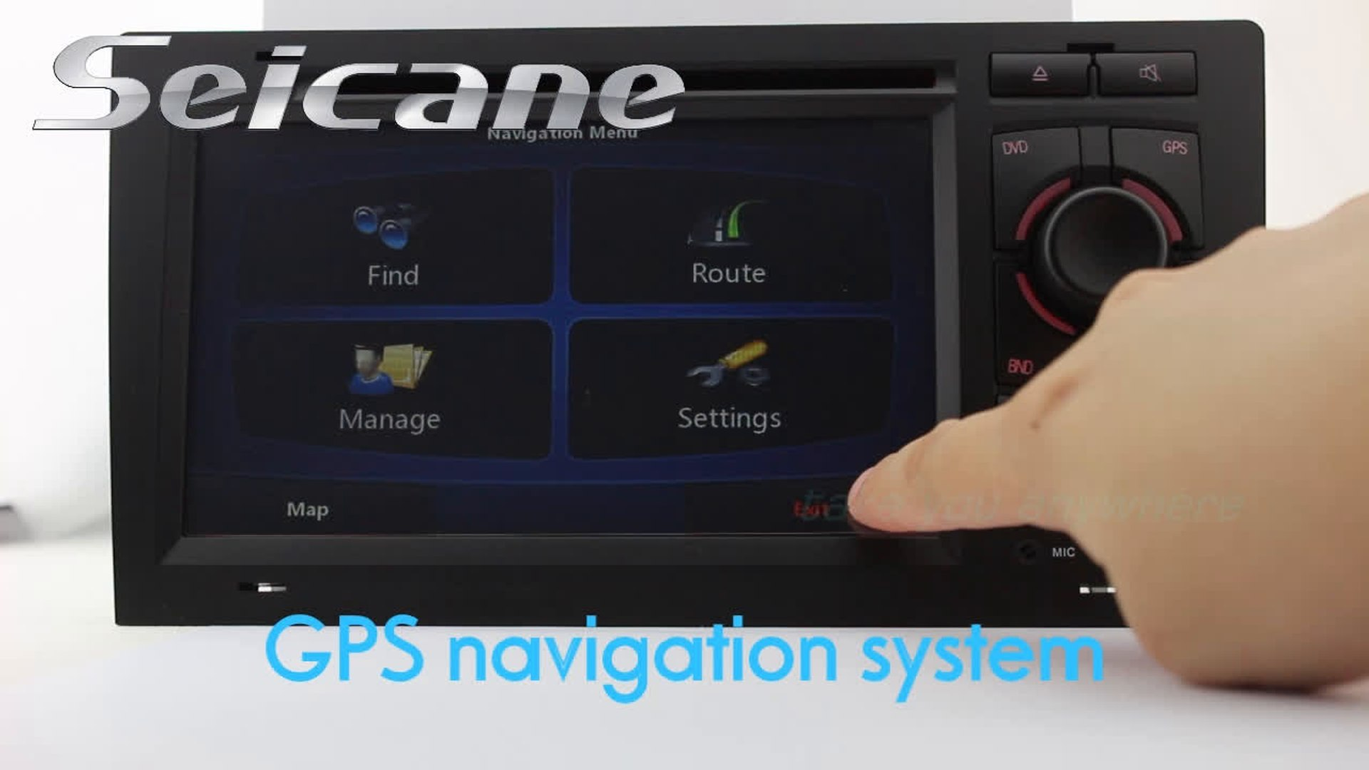 Audi A8 Radio Upgrade Removal for Aftermarket Car Stereo System GPS Sat Nav  HD DVD Video TV Ipod Dual Zone MP3