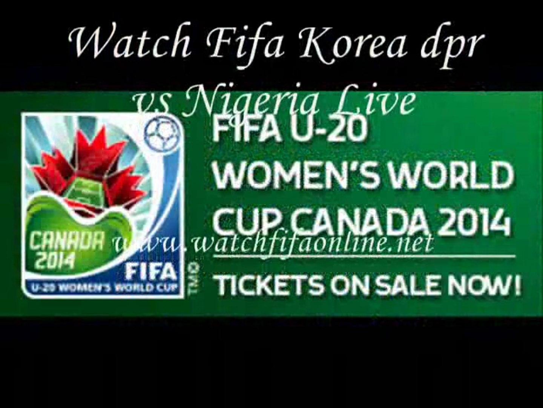 korea dpr vs Nigeria Womens Football Under 20 Live Match
