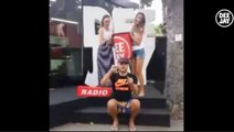 Alessandro Cattelan nomina Robbie Williams - Ice Bucket Challenge