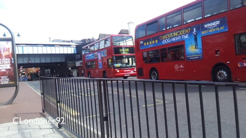Bus observations outside Romford Station 04-07-14