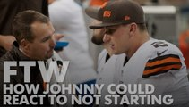 How Johnny Manziel could react to not starting for Browns