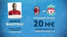 Officiel : Mario Balotelli signe à Liverpool !