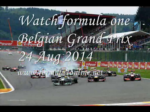 Watch Belgian grand prix