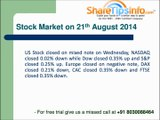 Nifty Option and Stock Option Trading Tips - Nifty Trading Trend for 21 August 2014 by sharetipsinfo