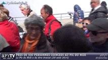 [HAUTES-PYRENEES] Evacuation du Pic du Midi (20 août 2014)