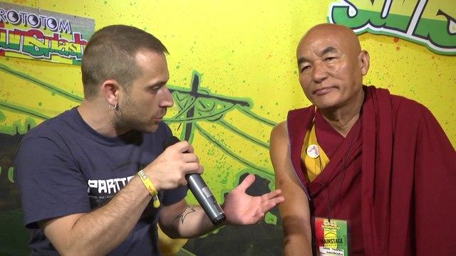 THUBTEN WANGCHEN interview @ Rototom Sunsplash 2014