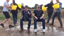 Tom Cruise and Chris McQuarrie - ALS Ice Bucket Challenge [Mission Impossible]