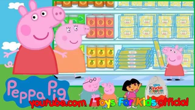 Peppa Pig English Episodes 09   Shopping