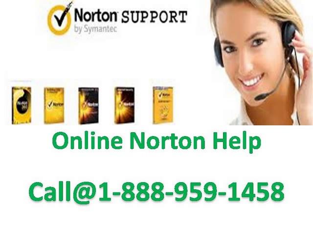 Norton Antivirus Tech Support 1-888-959-1458