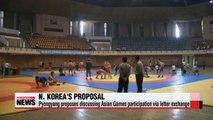 N. Korea proposes discussing Asian Games participation via letter exchange
